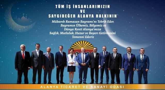 Altso başkanı Mehmet Şahin Ramazan bayramını kutladı