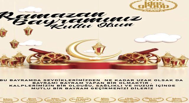 Klas group yönetim kurulu başkanı Muzaffer Barcın Alanya halkının bayramını kutladı