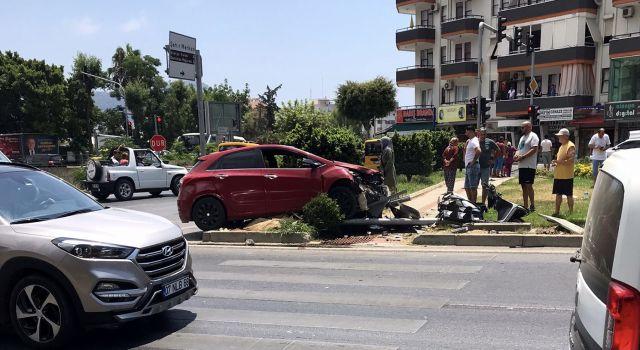 Çevre yolunda kaza 1 yaralı var