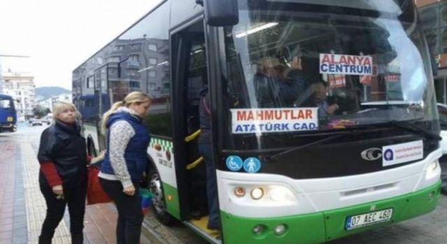 Halk otobüslerinde saat ayarlaması yapıldı