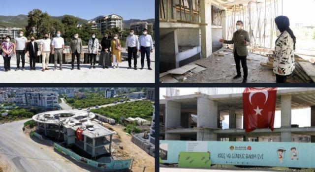 Alanya belediyesi kreş ve gündüz bakımevi hızla yükselmeye devam ediyor