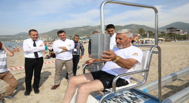 Alanya mavi bayraklı plaj sayısıyla Antalya'da ikinci sırada
