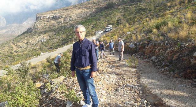Başkan Böcek Ahmet uzuna görevini iade etti