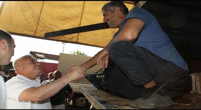 Başkan Mehmet Şahin 1 Mayıs işçi bayramı mesajı