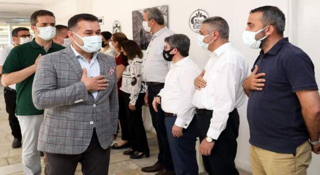 Başkan Yücel'den personele Bayram müjdesi
