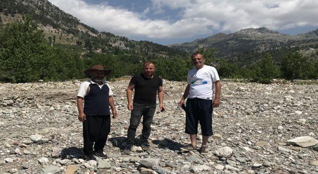 Kayhan Balta Mahmutlar yaylalarında sorunları yerinde inceledi