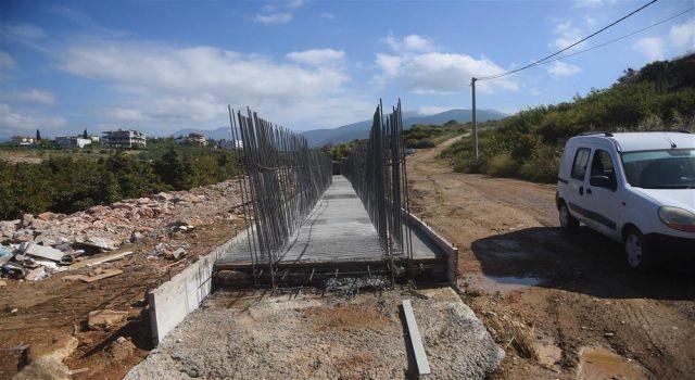 Kestel 30 metre imar yolu'nda çalışmalar hızlandı