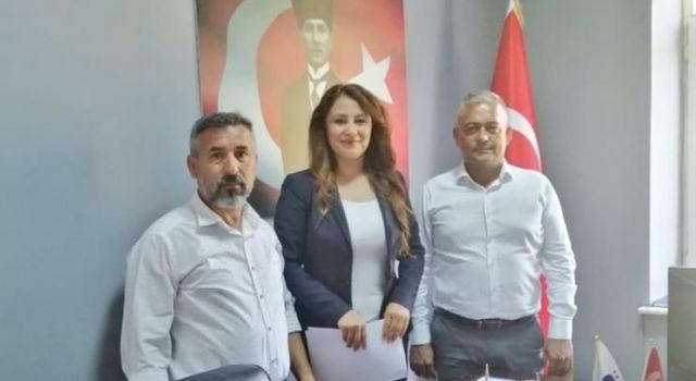Meryem Aydoğan Demirtaş grup yollarının bozuk yerlerinin asfaltlanması için dilekçe verdi