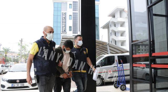 Polisi yaralayarak kaçan zanlı yakalanarak tutuklandı