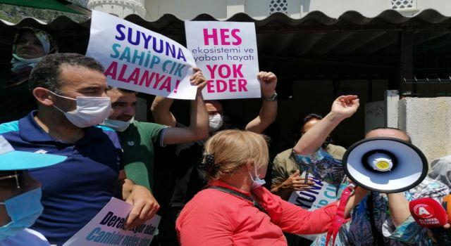 Alanya halkı hese karşı dim Alacami'de tek yürek oldu