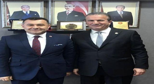 Başkan Adem Murat Yücel esnafın taleplerini bakan Soylu'ya ileten vekil Başkana teşekkür etti