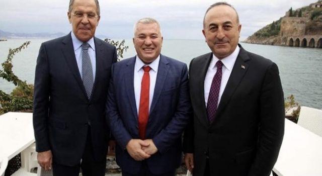 Başkan Şahin bakan Mevlüt Çavuşoğlu'na teşekkür etti