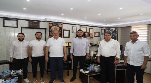 Başkan Toklu oda başkanlarını ziyaret etti