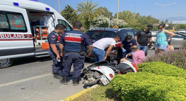 Kestel'de kaza iki turist yaralandı