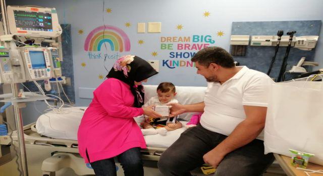 Ahmet bebeğin ilaç tedavisine başlanıldı
