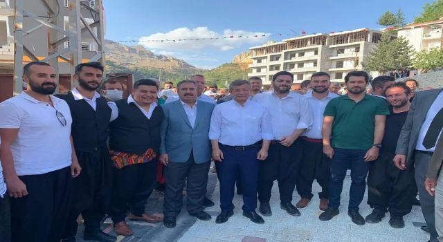 Gelecek partililer genel başkanları Davutoğlu ile bir araya geldiler