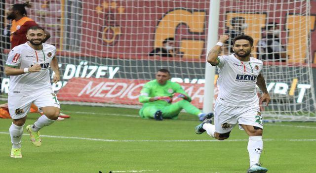 Alanyaspor Galatasaray deplasmanından 3 puanla dönüyor