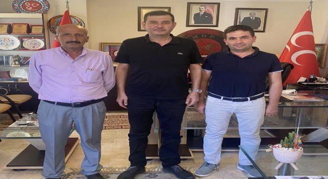 Muhtarlar Başkan Türkdoğan'ı ziyaret etti