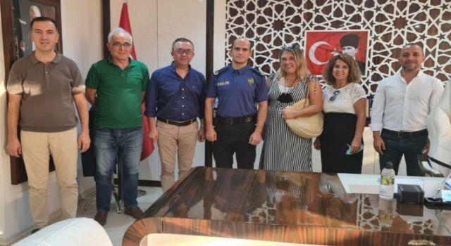 Alsiad yönetimi yeni müdürü ziyaret etti