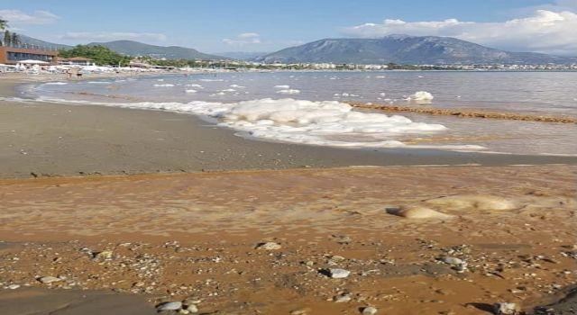 Sondaj'dan gelen su denize akınca Alçed başkanı isyan etti