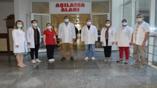 Alanya'da 30 bin kişi aşı oldu