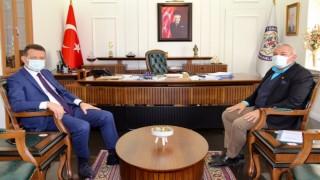 Başkan Mehmet Şahin esnafların taleplerini kaymakama iletti