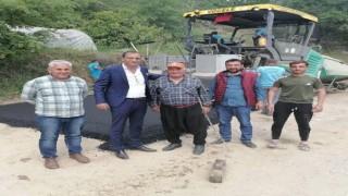 Kayhan Balta 35 yıl sonra Recepli mahallesine Asvalt müjdesi verdi
