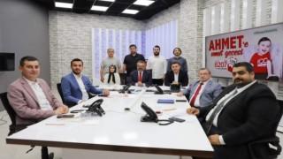 Ahmet bebek için biraraya gelen başkanlar 2 milyon 195 bin tl topladı
