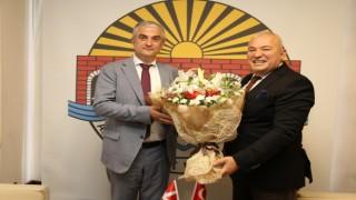Başkan Şahin Danimarka büyükelçisiyle biraraya geldi