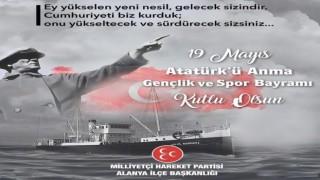 Başkan Türkdoğan 19 mayısı kutlama mesajı
