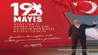 Meclis üyesi Kayhan Balta 19 Mayıs Atatürk'ü anma gençlik ve spor bayramını kutladı