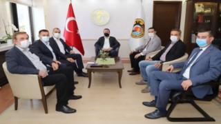 MHP Antalya milletvekili ve yöneticiler Başkan Adem Murat yücel ile biraraya geldiler