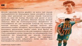 Alanyaspor'dan ayrılan Salih uçan Alanyaspor' yönetimi ve taraftardan haklarını helal etmelerini istedi