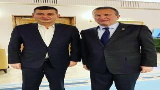 Başkan Türkdoğan hazırladıkları esnaf raporunu içişleri bakanı Soylu'ya teslim eden vekil Abdurrahman Başkan'a teşekkür etti