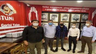 Başkan Türkdoğan normalleşme ile esnafları ziyaret etti