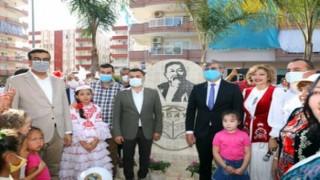 Başkan Yücel kazak şairin adını verdiği parkın açılışını yaptı