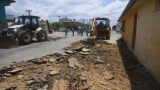Beton yol tekniği caddelerde uygulanmaya başladı
