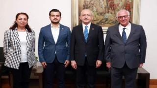 CHP'li Meclis üyesi Nazmi Zavlak genel başkanları Kemal Kılıçdaroğlu ile görüştü