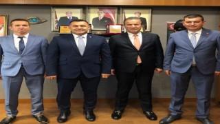 Esnafların taleplerini Ankara'ya ilettiler