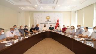 Muhtar Akışoğlu Başkan Toklu'ya teşekkür etti