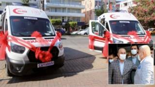 Alanya'nın Batı mahalleside Ambulans istiyor