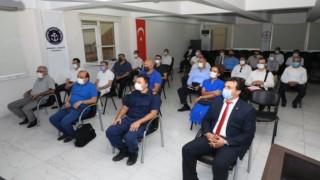 Kaymakam Ürkmezer Şube başkanları ile toplantı yaptı