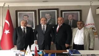 Murat Kurt Genel Başkanını ziyaret etti